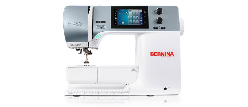 Półprzemysłowa, do cięższego szycia, poradzi sobie nawet z... grubą tekturą. Przeczytaj naszą recenzję maszyny Bernina B480.