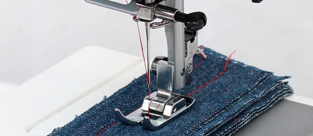 Zerknij tutaj, jeśli szukasz najlepszej maszyny do szycia jeansu, ekoskóry czy lekkiego filcu. Najnowsza propozycja od Janome, kontynuacja serii 400