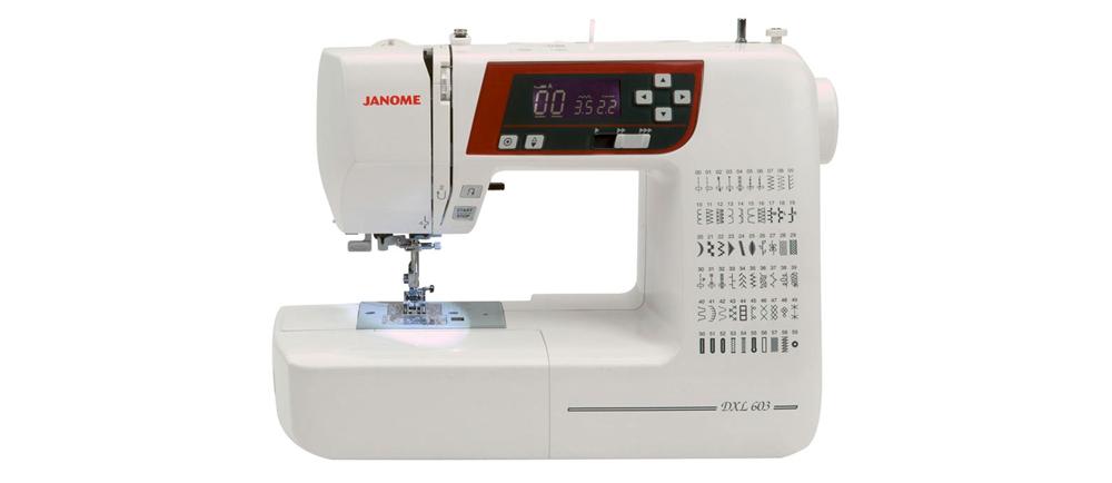 Janome DXL603, QXL605 i TXL607 - czym się różnią? Są to maszyny elektroniczne czy komputerowe? Która wyszywa literki? Odpowiedzi na te pytania znajdziesz w naszym porównaniu