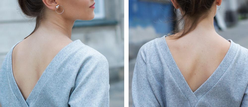 Zachwycasz się na Instagramie bluzami i swetrami z głębokim wycięciem na plecach? Zobacz ten wpis, zainspiruj się i uszyj samodzielnie takie ubranie.
