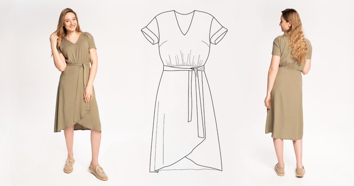 kurs-online-szycia-sukienki-olive-z-dekoltem-v