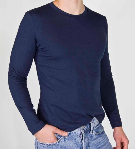 Konstrukcja i szycie - męski tshirt oraz longsleeve