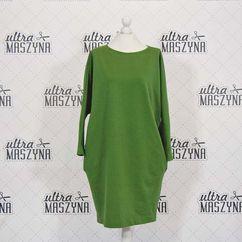 Wykrój na sukienkę oversize z kieszeniami