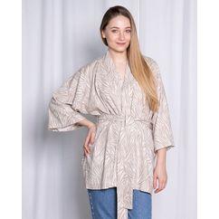 Wykrój na kimono z cyklu Garderoba Kapsułowa
