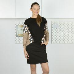 Wykrój na sukienkę z kieszeniami Garderoba Kapsułowa
