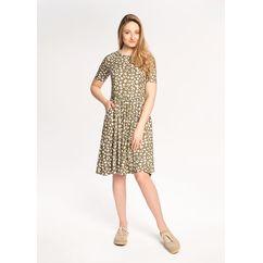 Wykrój - sukienka z kieszeniami TIMBRE