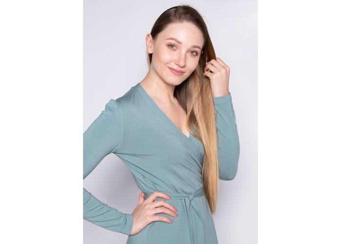 Wykrój - klasyczna sukienka kopertowa LA MER