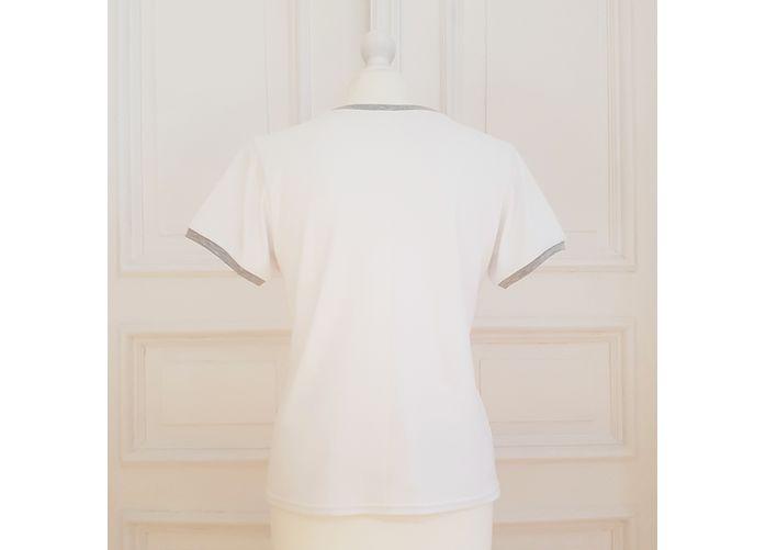 Wykrój na dopasowany t-shirt damski