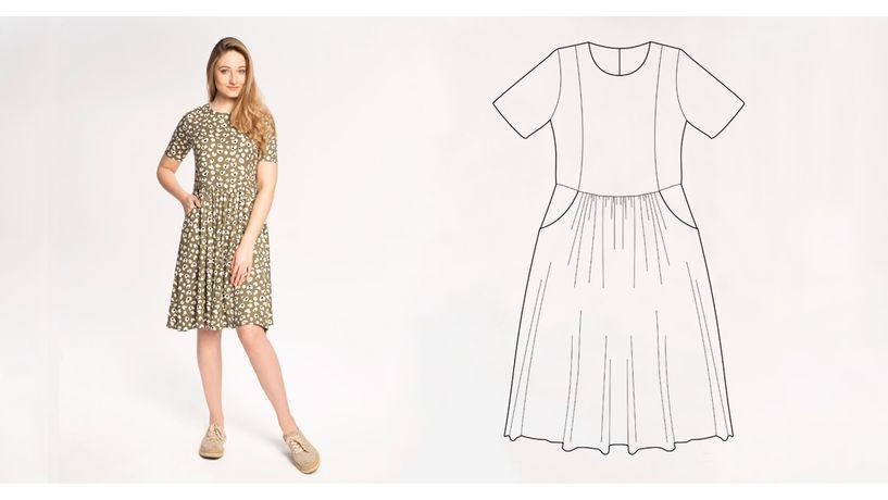 kurs-szycia-sukienki-timbre-z-kieszeniami-online-